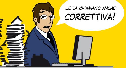 La Manovra Correttiva - Il Dott. De Tassibus