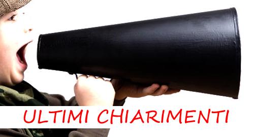 CHIARIMENTI