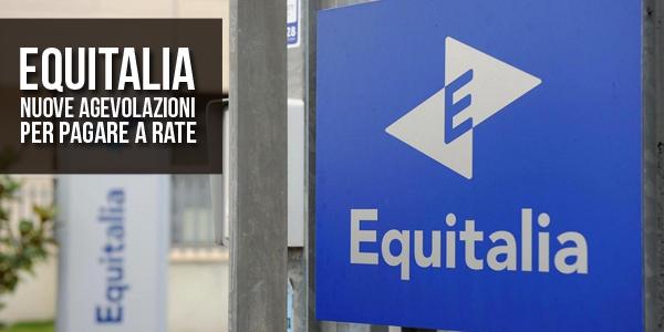 Equitalia nuove agevolazioni per pagare a rate for Rate equitalia