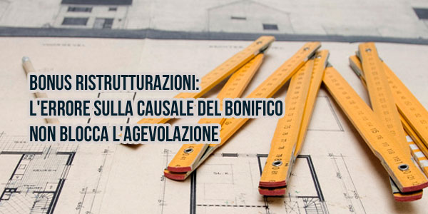 Casa moderna roma italy bonifico per detrazioni fiscali for Bonifico per ristrutturazione