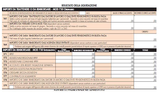 Modello 730 2014 stop ai maxi rimborsi fisco 7 for 730 modello