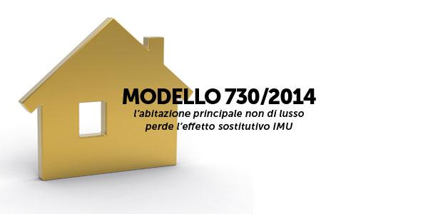 Modello 730 2014 l abitazione principale non di lusso for Dichiarazione iva agevolata prima casa