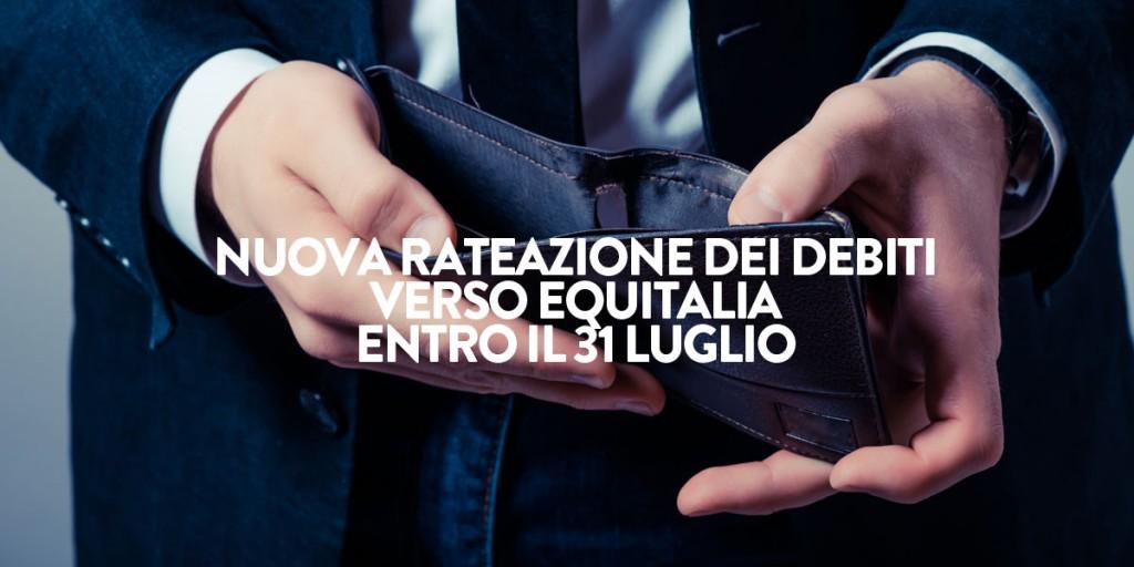 Nuova rateazione dei debiti verso equitalia entro il 31 for Rate equitalia