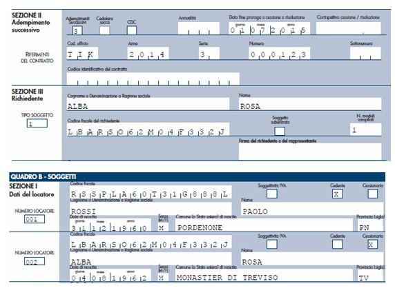 Contratto di locazione e decesso del locatore fisco 7 for Contratto cedolare secca modello
