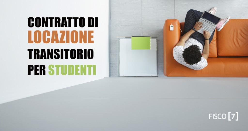 contratto di locazione transitorio per studenti fisco 7