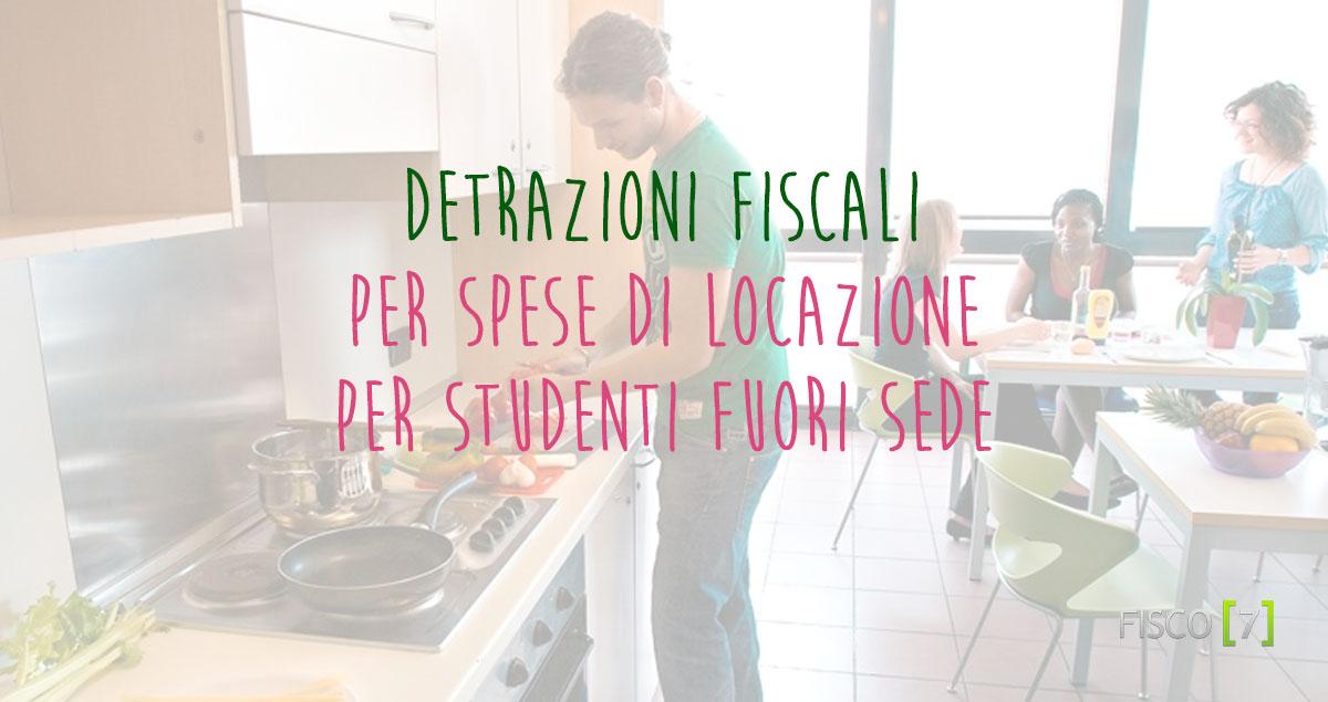 Detrazioni fiscali per spese di locazione per studenti - Detrazione affitto 2016 ...