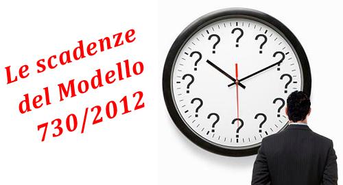 Con Il Decreto Del Presidente Del Consiglio Dei Ministri Firmato In Data 26  Aprile 2012 Sono Stati Modificati I Termini Per La Consegna Del Modello 730/2012  ...