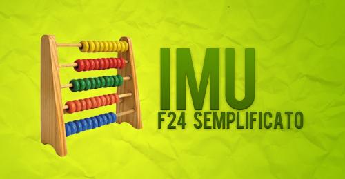 F24 semplificato per il pagamento dell imu fisco 7 for Pagamento imu