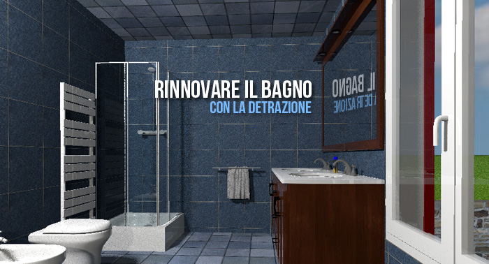 Rinnovare il bagno con la detrazione - Fisco 7
