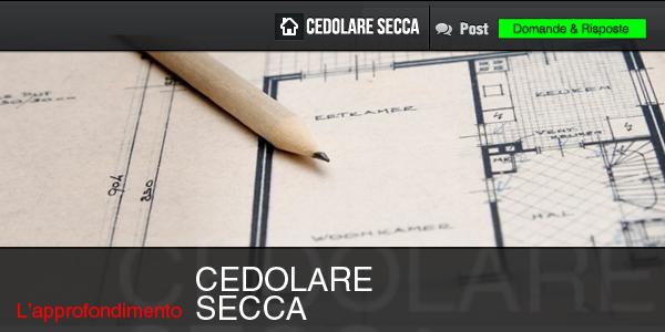 Base imponibile nel caso di canone comprensivo di spese for Cedolare secca calcolo