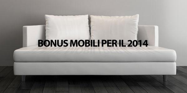 Bonus mobili per il 2014 fisco 7 - Bonus mobili iva ...