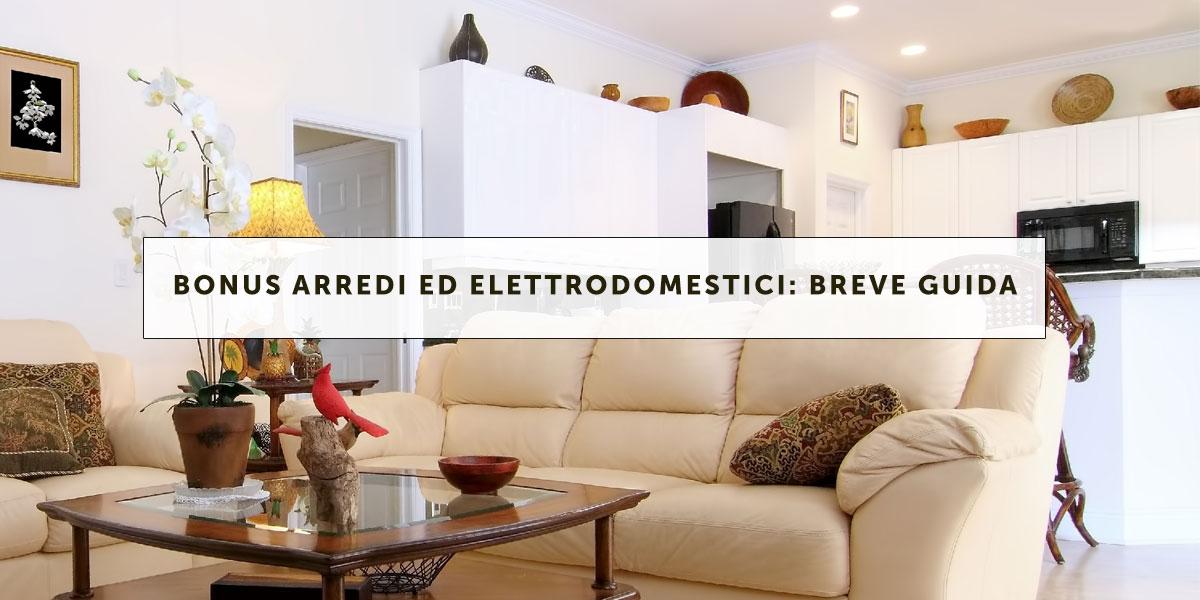 Bonus arredi ed elettrodomestici breve guida fisco 7 for Bonus elettrodomestici
